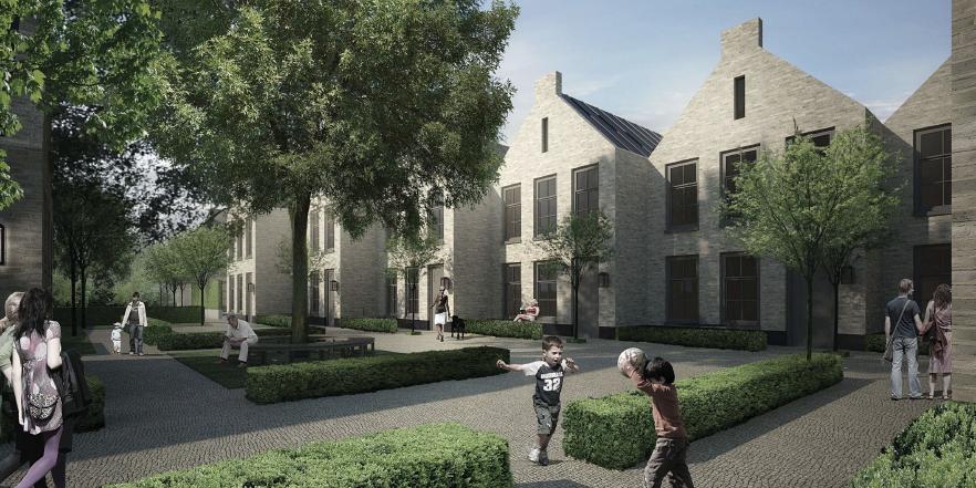 Locatie Komweg (ontwerp: DenOlderVleugels Architects & Associates)